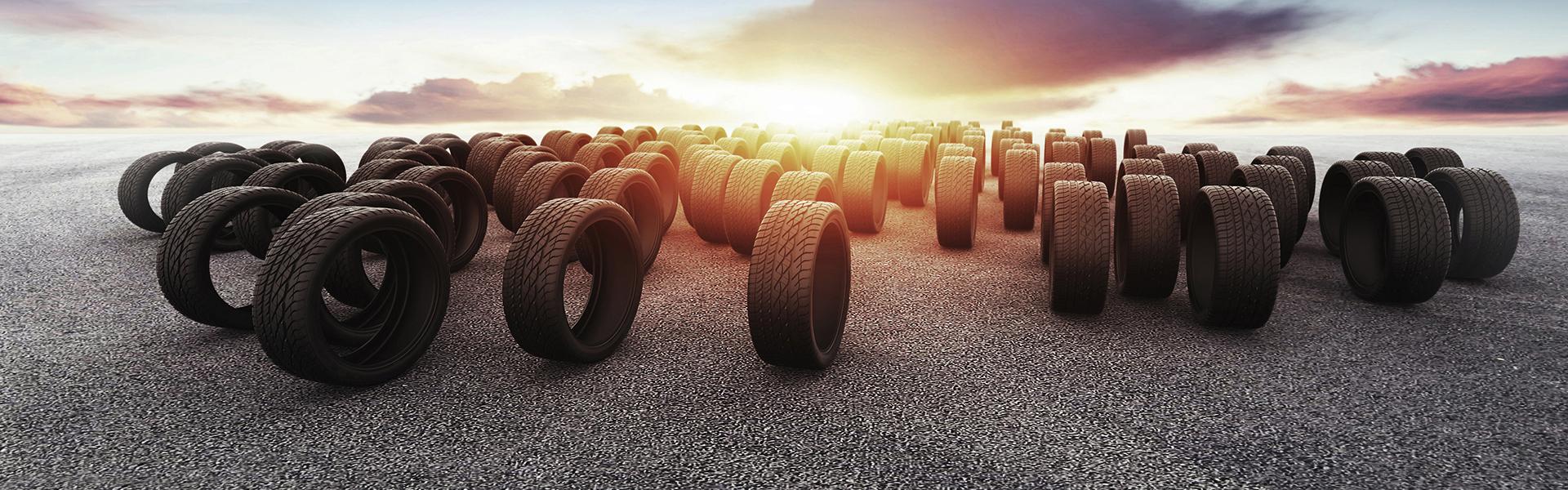 Laaja rengasvalikoima